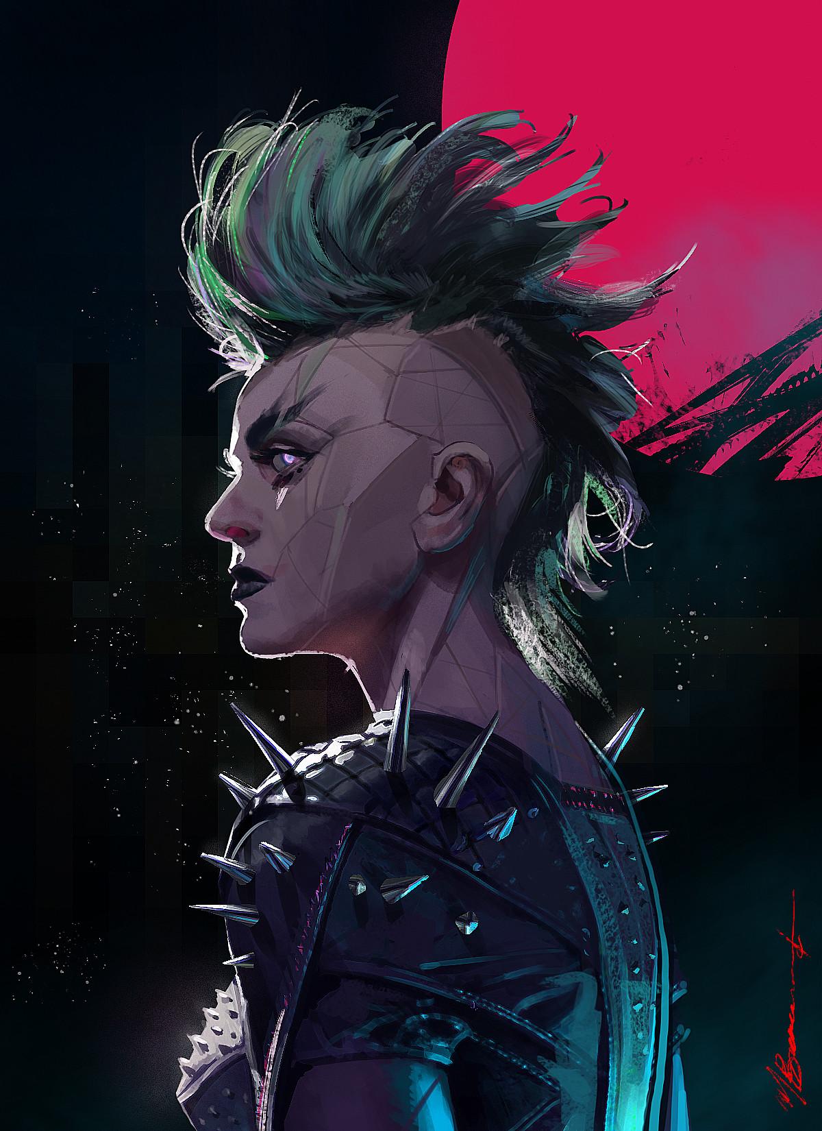 Michael Broussard Bionic Punk