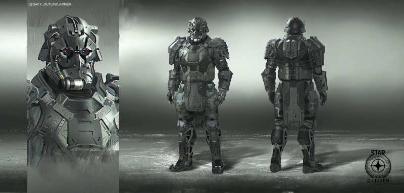 Character Concept Art - Start Citizen